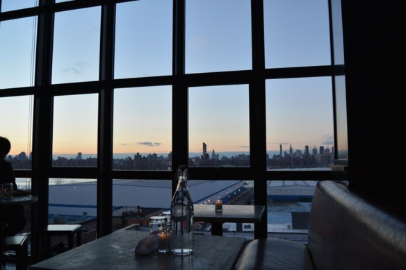 From the W in Williamsburg